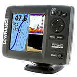 GPS навигатор (картплоттер) и эхолот Lowrance Elite-5 CHIRP
